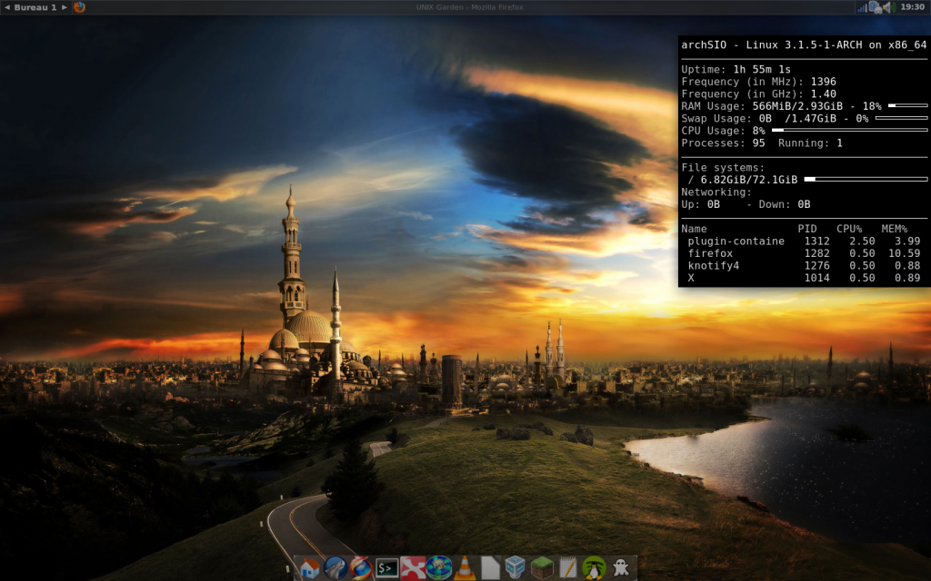 Marre de KDE et GNOME ? Passez à FluxBox ! - Quentin Demoulière